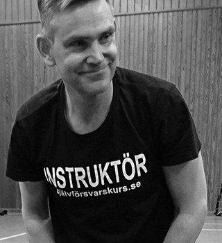 Instruktör Magnus Olofsson