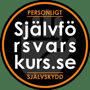 Logo rund Självförsvarskurs transparent