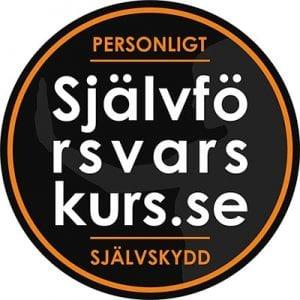 Självförsvarskurs.se - Logo rund