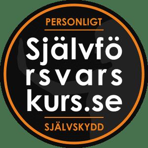 Logo Självförsvarskurs.se rund